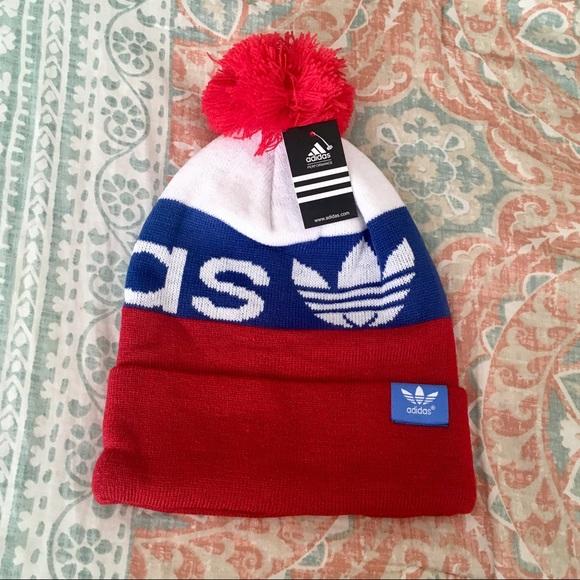 144bf53c9e7 NWT✨ Adidas Warm Beanie Winter Fleece Lined Hat
